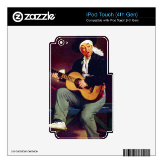 Spanish singer by Edouard Manet iPod Touch 4G Skin