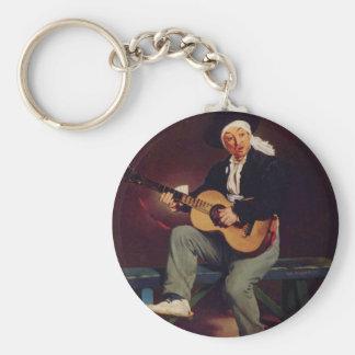 Spanish singer - Edouard Manet Keychain