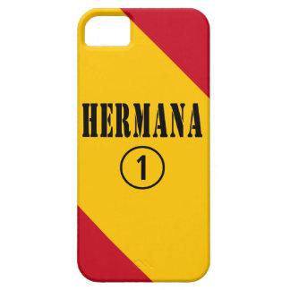 Spanish Sisters : Hermana Numero Uno iPhone SE/5/5s Case