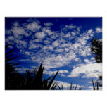 Spanish sky print