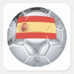 Spanish Soccer Ball Stickers
