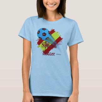 Spanish Soccer Bonanza Ladies Babydoll T-shirt