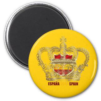 Spanish Soccer kings 2010 World Champions Magnet