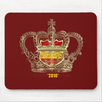 Spanish Soccer kings 2010 World Champions Mouse Pad