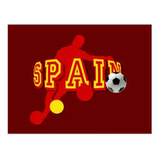 Spanish Soccer Player futbol fans gifts Postcard