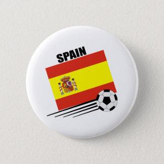 Spanish Soccer Team Pinback Button