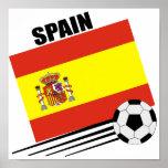 Spanish Soccer Team Poster