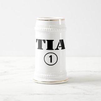 Spanish Speaking Aunts : Tia Numero Uno Beer Stein