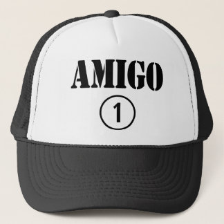 Spanish Speaking Friends : Amigo Numero Uno Trucker Hat
