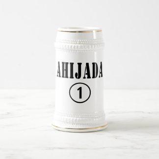 Spanish Speaking Goddaughters : Ahijada Numero Uno Beer Stein