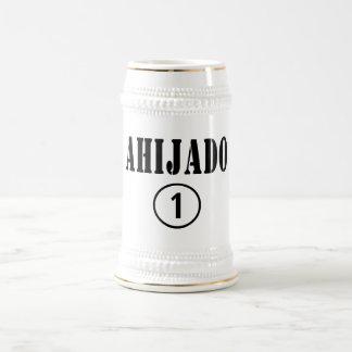 Spanish Speaking Godsons : Ahijado Numero Uno Beer Stein