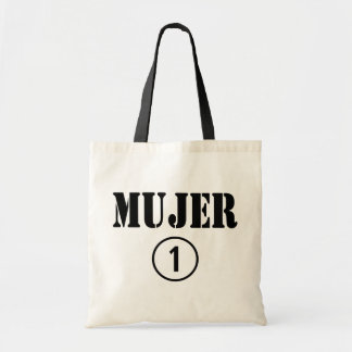 Spanish Speaking Wives : Mujer Numero Uno Tote Bag