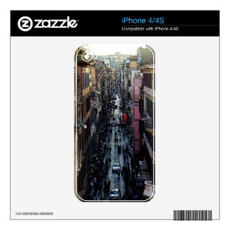 Spanish Square Decal For iPhone 4