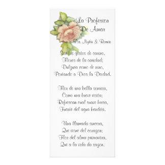 Spanish ST Valentine s Poem-Customize Custom Announcement