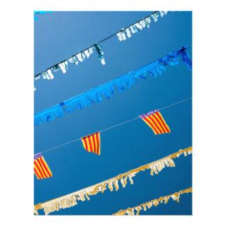 Spanish Street Bunting Letterhead