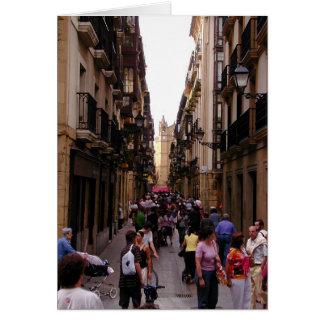 Spanish Street Card