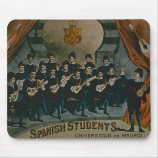 'Spanish Students, University of Madrid' (colour l Mouse Pad