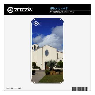 Spanish Style Church iPhone 4 Skin