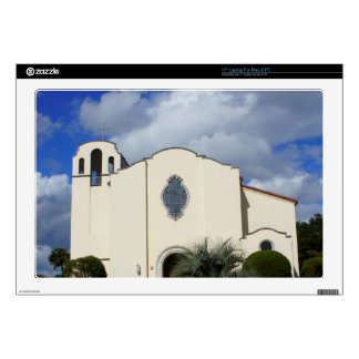 Spanish Style Church Laptop Decals