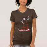 spanish sugar skull dancer tee shirt
