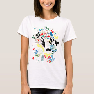 Spanish summer abstract T-Shirt