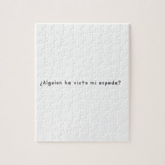 Spanish-Sword Jigsaw Puzzle