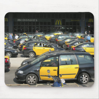 Spanish Taxi rank mouse mat Mouse Pad