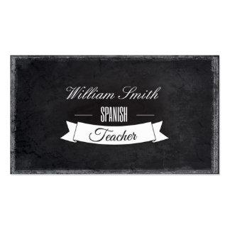 Spanish Teacher Business Card