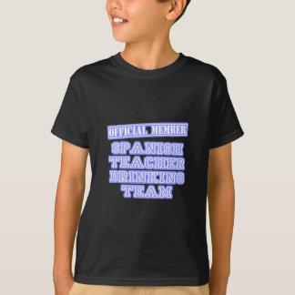 Spanish Teacher Drinking Team T-Shirt