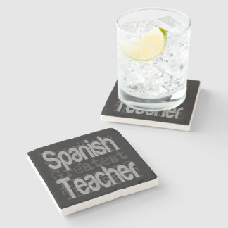 Spanish Teacher Extraordinaire Stone Coaster