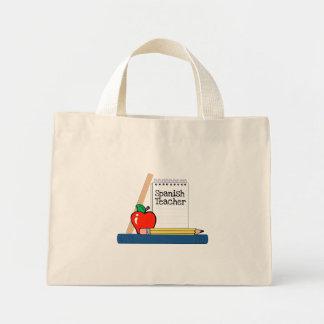 Spanish Teacher (Notebook) Mini Tote Bag