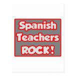 Spanish Teachers Rock! Post Cards