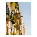 spanish terraces postcard