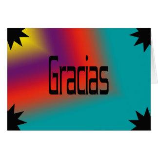 Spanish Thank You Cards | Zazzle