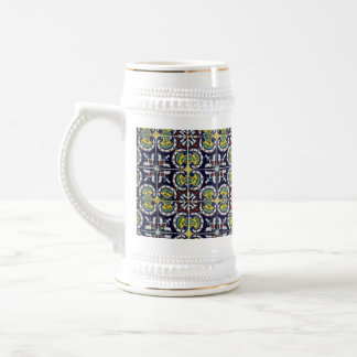 Spanish Tile in Mexico Beer Stein