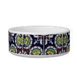 Spanish Tile in Mexico Cat Water Bowl