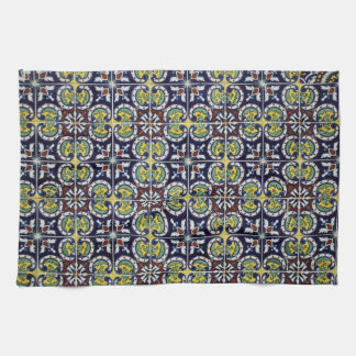 Spanish Tile in Mexico Towel