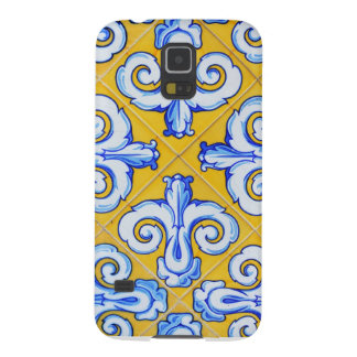 Spanish Tiles Galaxy S5 Covers