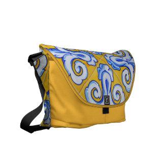 Spanish Tiles Commuter Bag