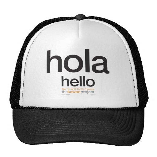 Spanish | trucker hat