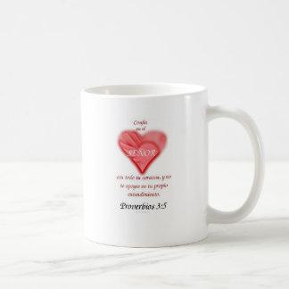 Spanish  Trust in the Lord Coffee Mug