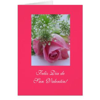 Spanish: Valentine's Day/ Dia San Valentin Card