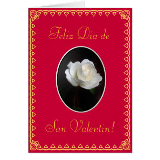 Spanish: Valentine's day/ San Valentin tmpl Card