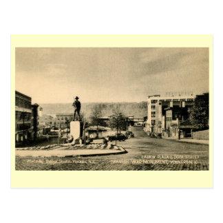 Spanish War Monument, Yonkers, New York Vintage Postcard