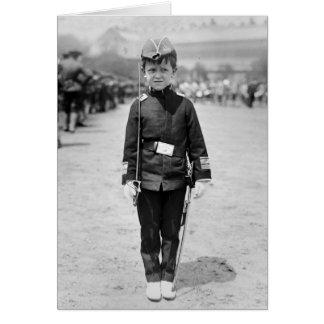 Spanish War Veteran Mascot, 1908 Card