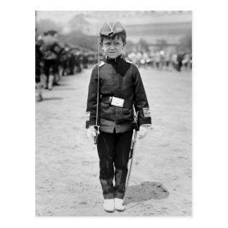 Spanish War Veteran Mascot, 1908 Postcard