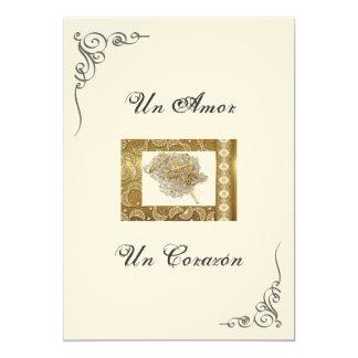 """Spanish Wedding Invitation """"Wedding Lasso"""""""