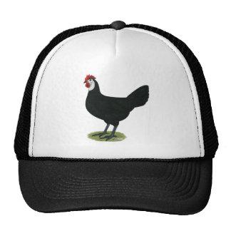 Spanish:  White-faced Hen Trucker Hat