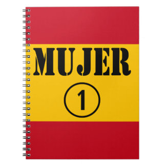 Spanish Wives : Mujer Numero Uno Spiral Notebook