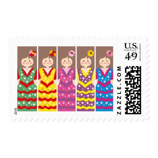 SpanishBookmark Stamp